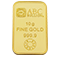 ABC Bullion gold minted bar