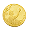 Eureka gold minted coin
