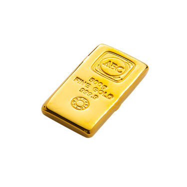 500 g ABC Bullion Gold cast bar
