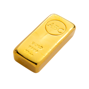 10 oz ABC Bullion Gold cast bar