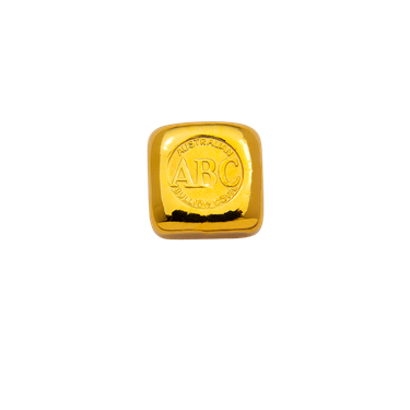 1 oz ABC Bullion Gold cast bar