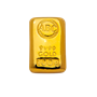 100 g ABC Bullion Gold cast bar