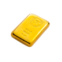 5 oz ABC Bullion Gold cast bar